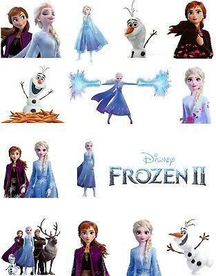 Frozen Cake toppers Printable Frozen 2 Cake Pops toppers Cupcakes toppers and Cake topper Printable D I Y