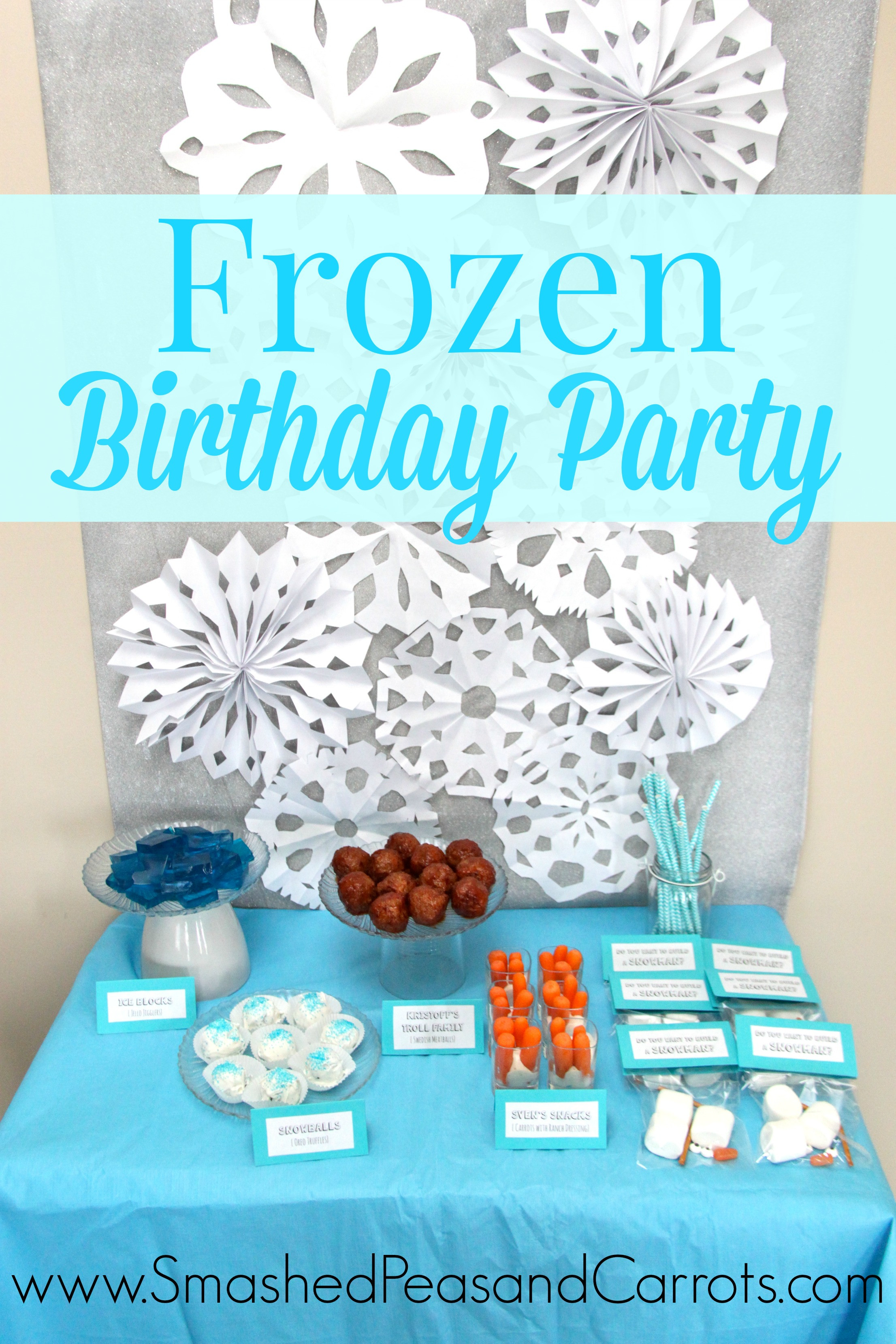 Frozen Free Printable Food Labels Eloise S Frozen Birthday Party with Free Printables
