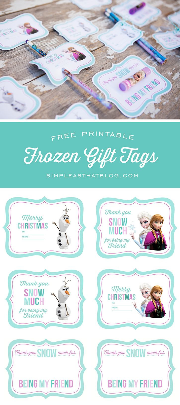 Frozen Free Printable Food Labels Free Printable Disney Frozen Gift Tags