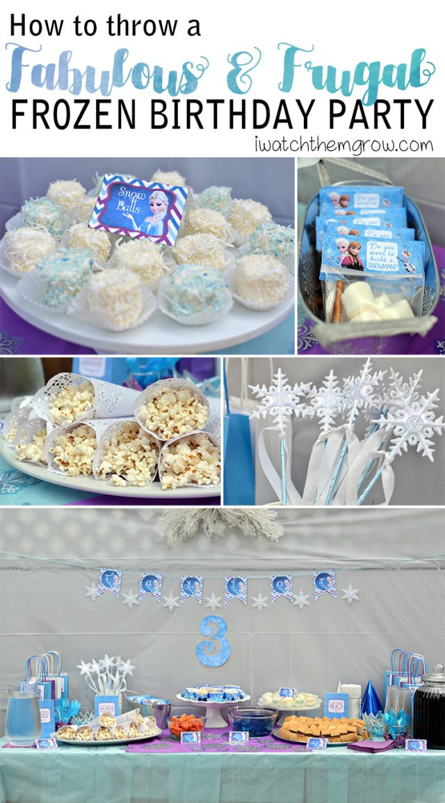 Frozen Free Printable Food Labels How to Throw A Fabulous and Frugal Diy Frozen Birthday Party