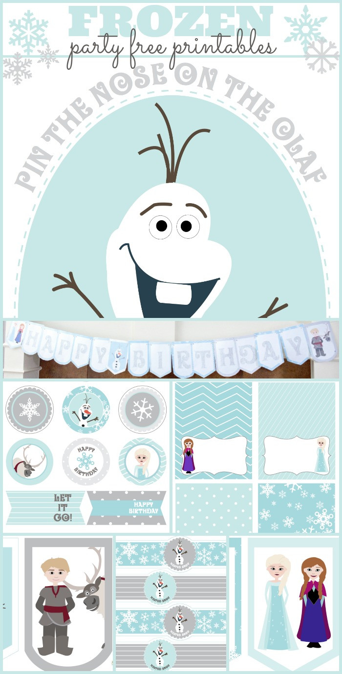 Frozen Invite Printable Frozen Birthday Party Printables Capturing Joy with