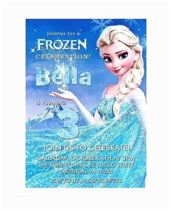 Frozen Printable Birthday Invitations Frozen Party Invitations Disney Frozen Birthday Party
