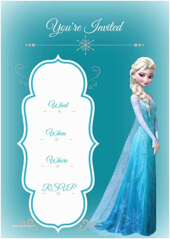 Frozen Printable Invitation Elsa Birthday Invitations Frozen Birthday Party Busy Mom S