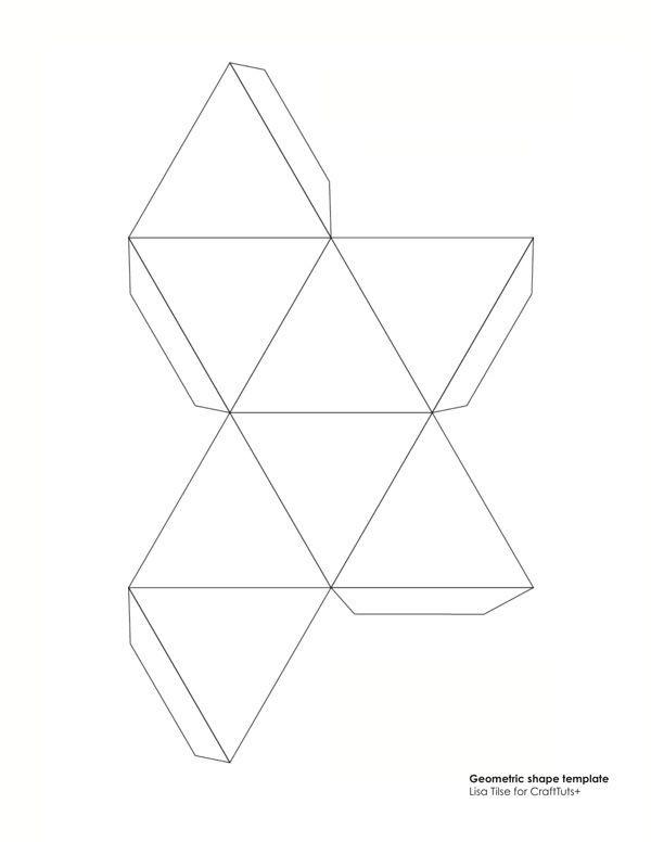 Geometry Template Printable 12 Geometric Shape Templates Geometric Shape