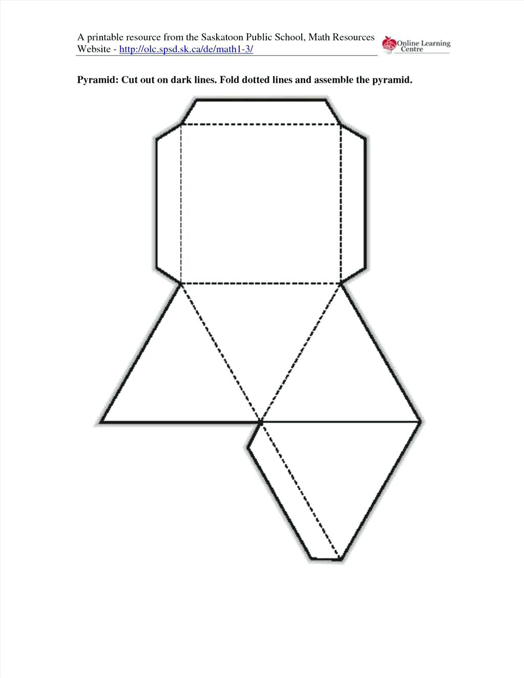 Geometry Template Printable Best Printable Shapes to Cut Out