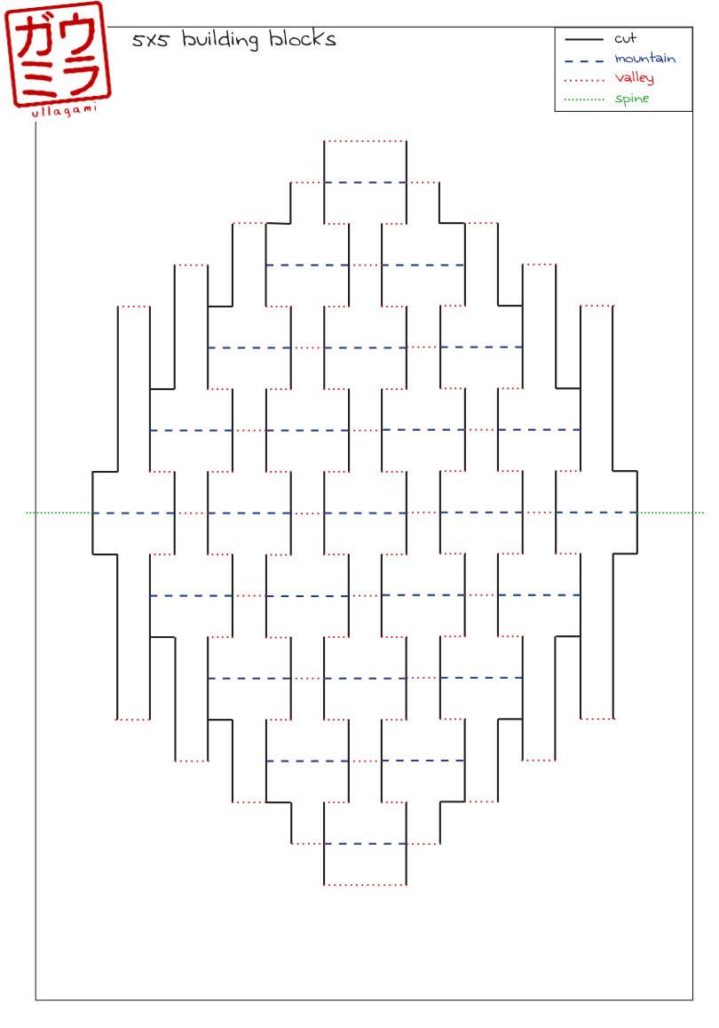 Geometry Template Printable Ullagami How to Geometric Kirigami Pop Ups