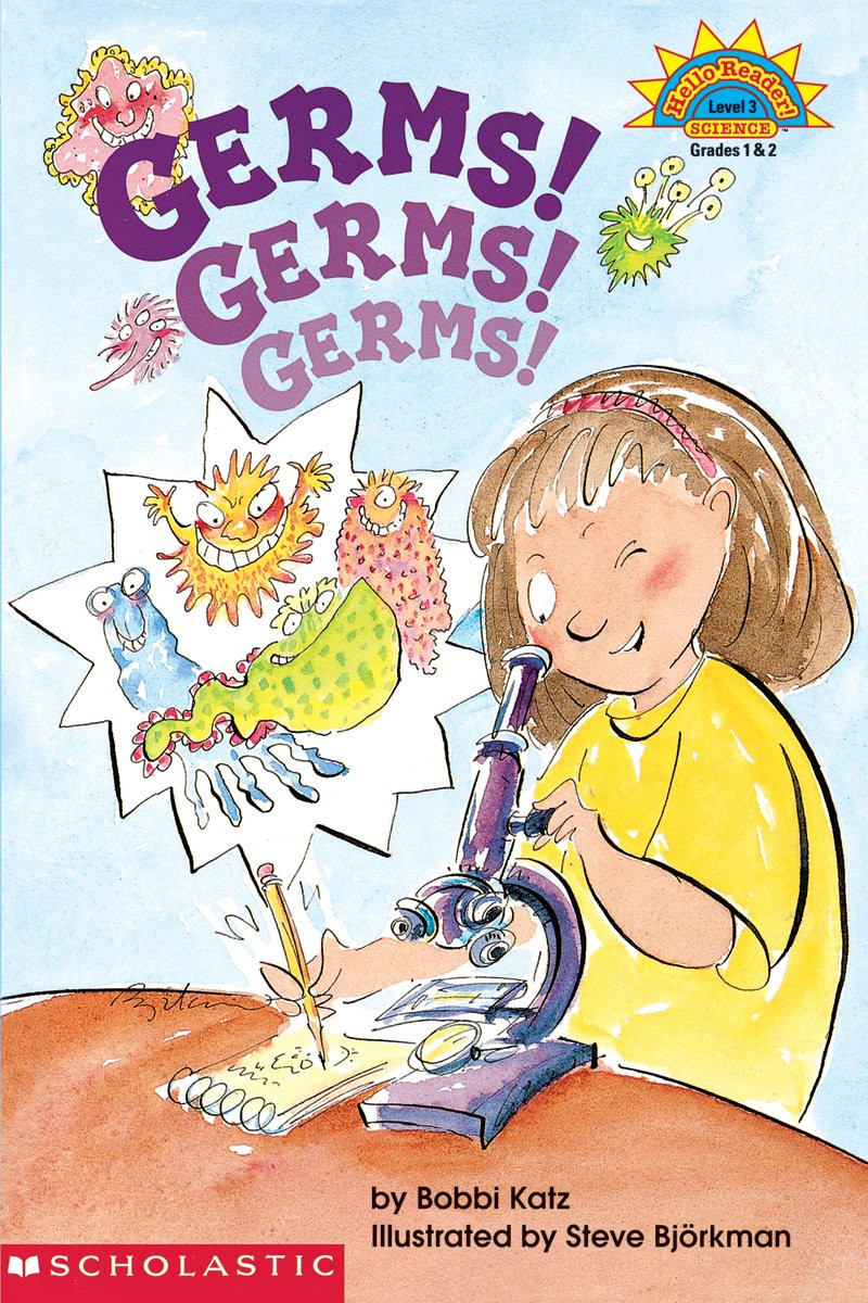 Germ Worksheets for First Grade Germs Germs Germs by Bobbi Katz