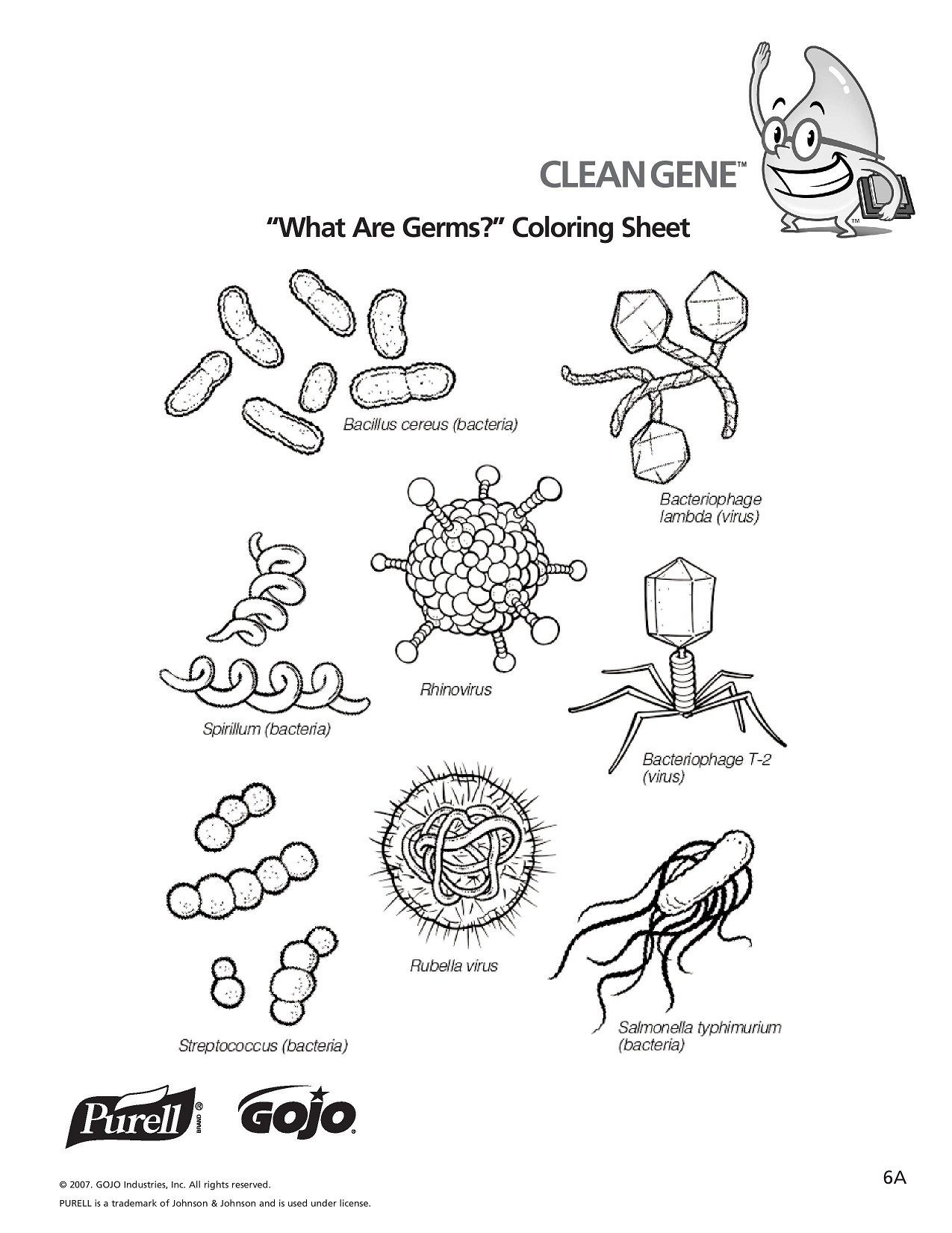 Germ Worksheets for First Grade K 5 Hand Hygiene Lesson Plans and Worksheets