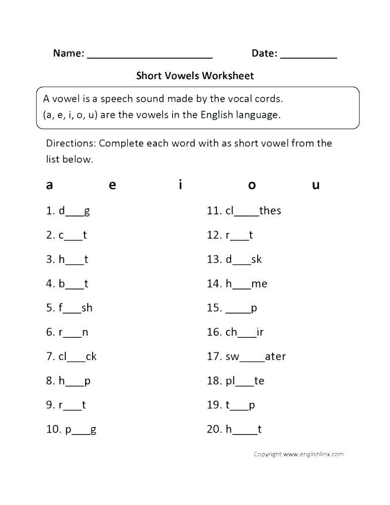 Grammar Worksheet 1st Grade English Worksheets for 1st Grade – Momami