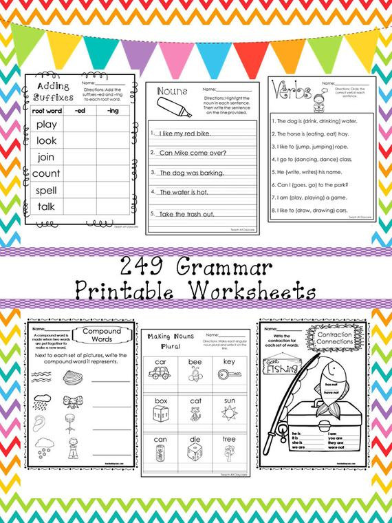 Grammar Worksheet 1st Grade Worksheet Il 570xn Eoxa Grammar Worksheets