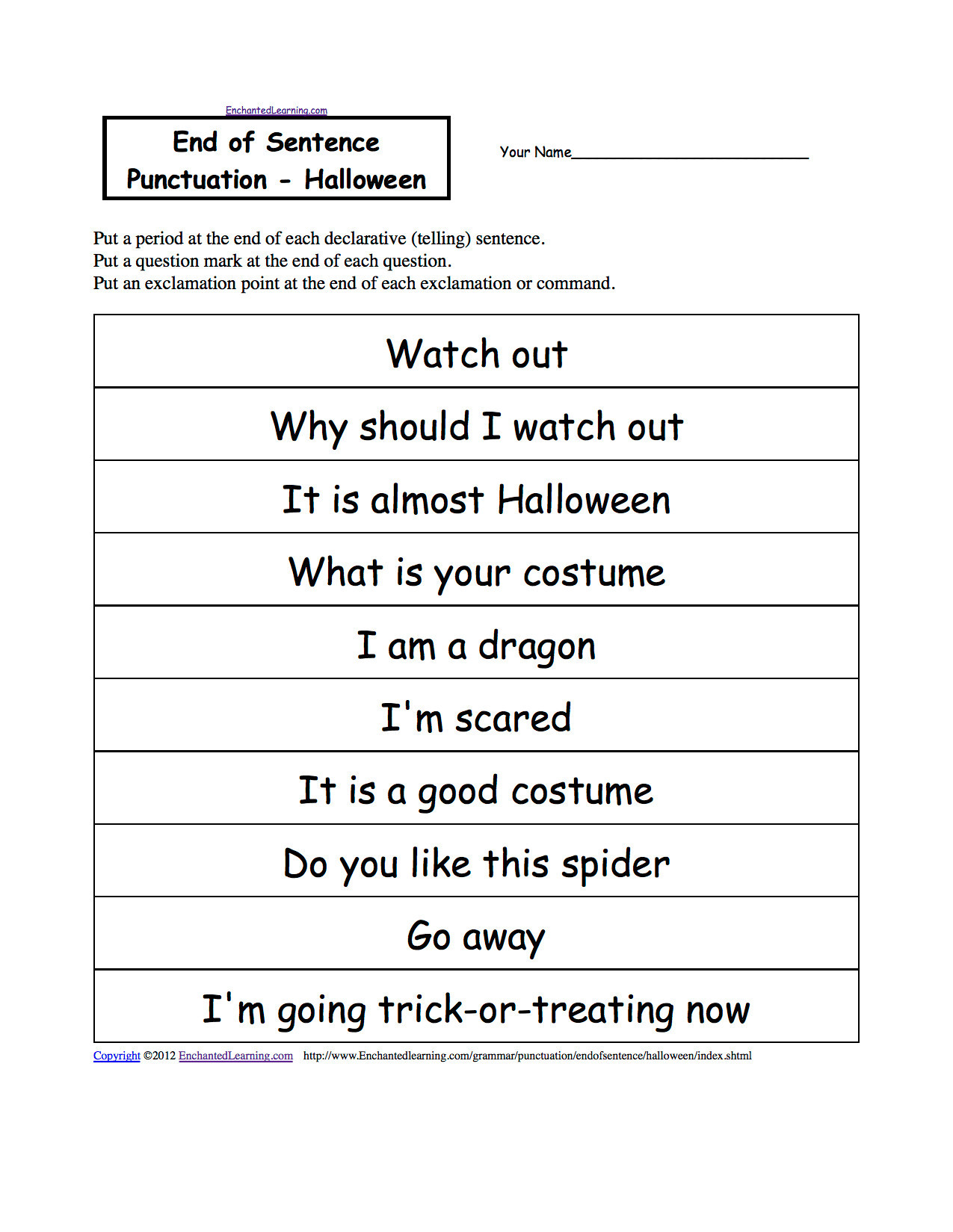 Grammar Worksheet First Grade 3 Free Grammar Worksheets First Grade 1 Punctuation