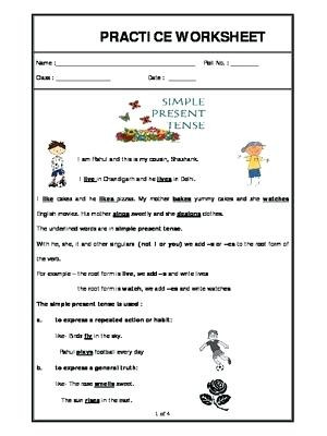 Grammar Worksheets 3rd Graders Grade 3 English Worksheets – Leter