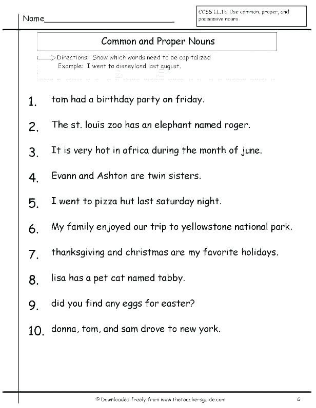 Grammar Worksheets for 3rd Grade 3rd Grade English Grammar Worksheets – Keepyourheadup