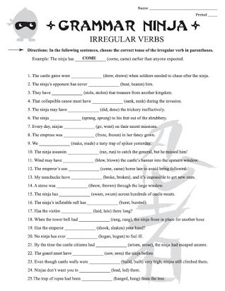 Grammar Worksheets for 8th Graders Free Printable Noun Worksheets for 7th Grade