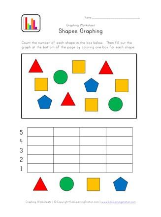 Graphing Worksheets Kindergarten Kindergarten Graphing Worksheet