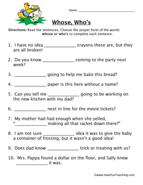 Homonyms Worksheets 5th Grade Homophones Worksheets • Have Fun Teaching