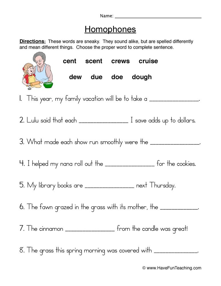 Homophones Worksheets for Grade 2 Homophones & Homonyms Lessons Tes Teach