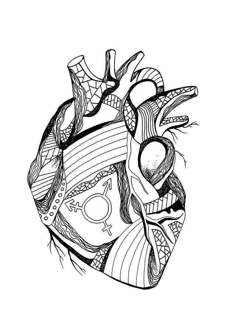 Human Heart Coloring Worksheet 24 the Most Creative Free Adult Coloring Pages Kenal