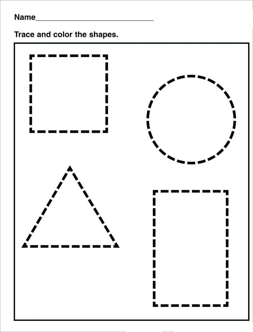 Identify Shapes Worksheet Kindergarten Free Worksheets for Kindergarten Pdf Clover Hatunisi
