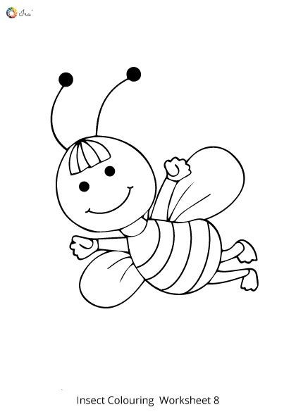 Insects Worksheets for Kindergarten Free Downloadable Insects Worksheets for Kids