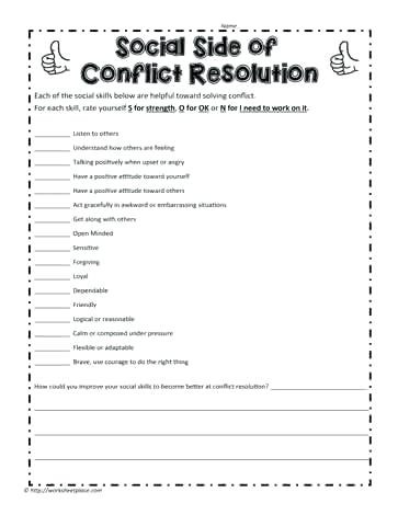Job Readiness Printable Worksheets Work Skills Worksheets – Goodaction