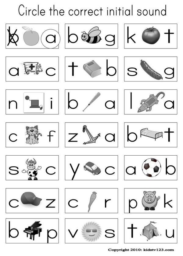 Jolly Phonics Worksheets for Kindergarten Alphabet & Phonics Worksheets by Amyl802