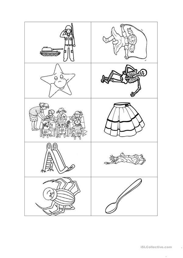 Jolly Phonics Worksheets for Kindergarten Jolly Phonics Method Letter S English Esl Worksheets for