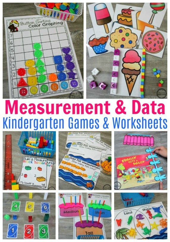 Kindergarten Math sorting Worksheets Measurement Worksheets Planning Playtime