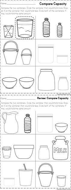 Kindergarten Measurement Worksheets √ Kindergarten Measurement Worksheets