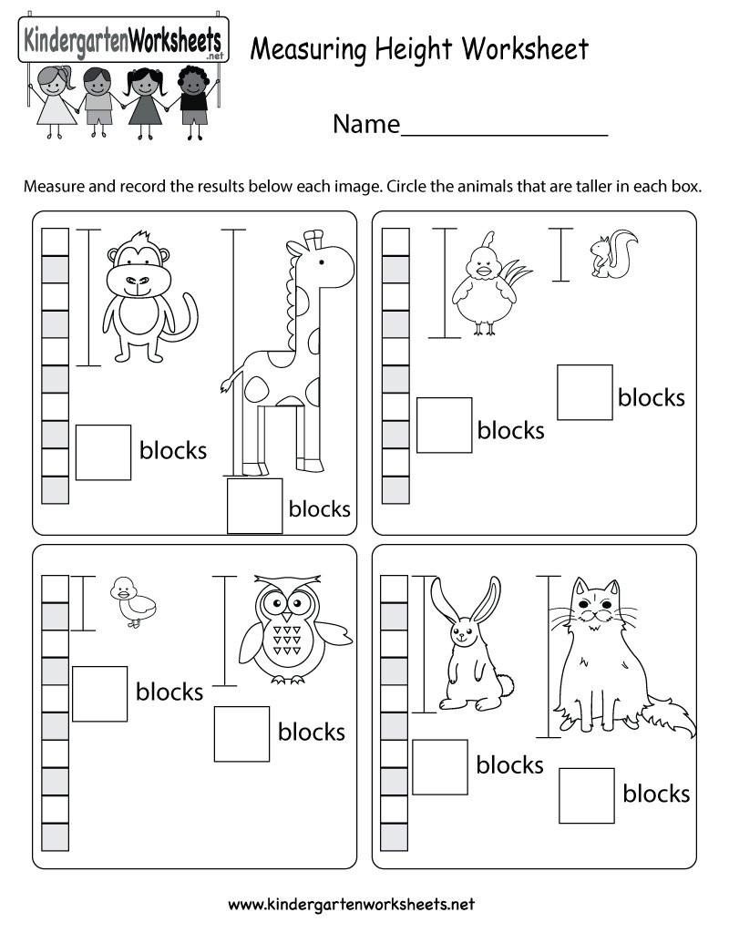 """Kindergarten Measurement Worksheets Kindergarten Wsheets On Twitter """"we Just Updated Our Series"""