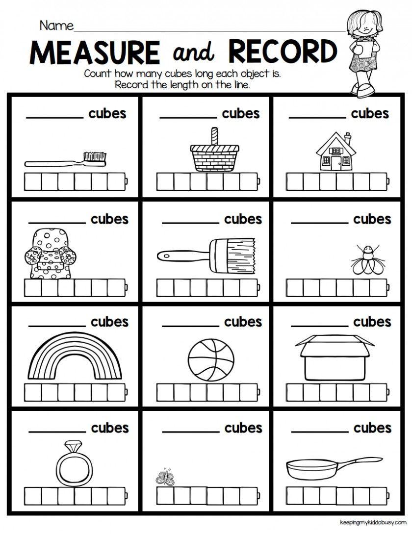 Kindergarten Measurement Worksheets Preschool Measurement Worksheets Worksheet Diamond Shape