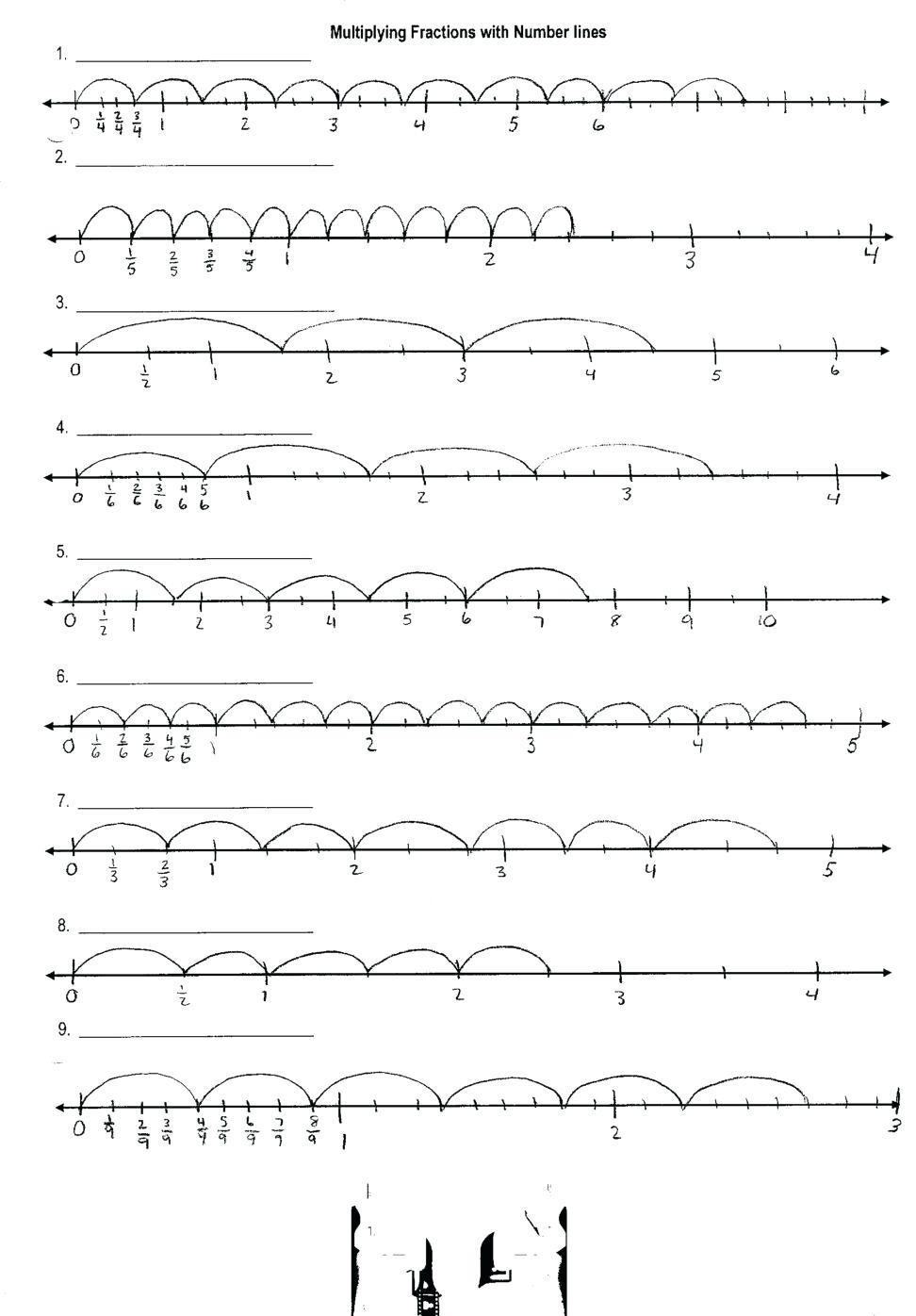 Kindergarten Number Line Worksheet Mixed Numbers A Number Line Worksheet Kindergarten