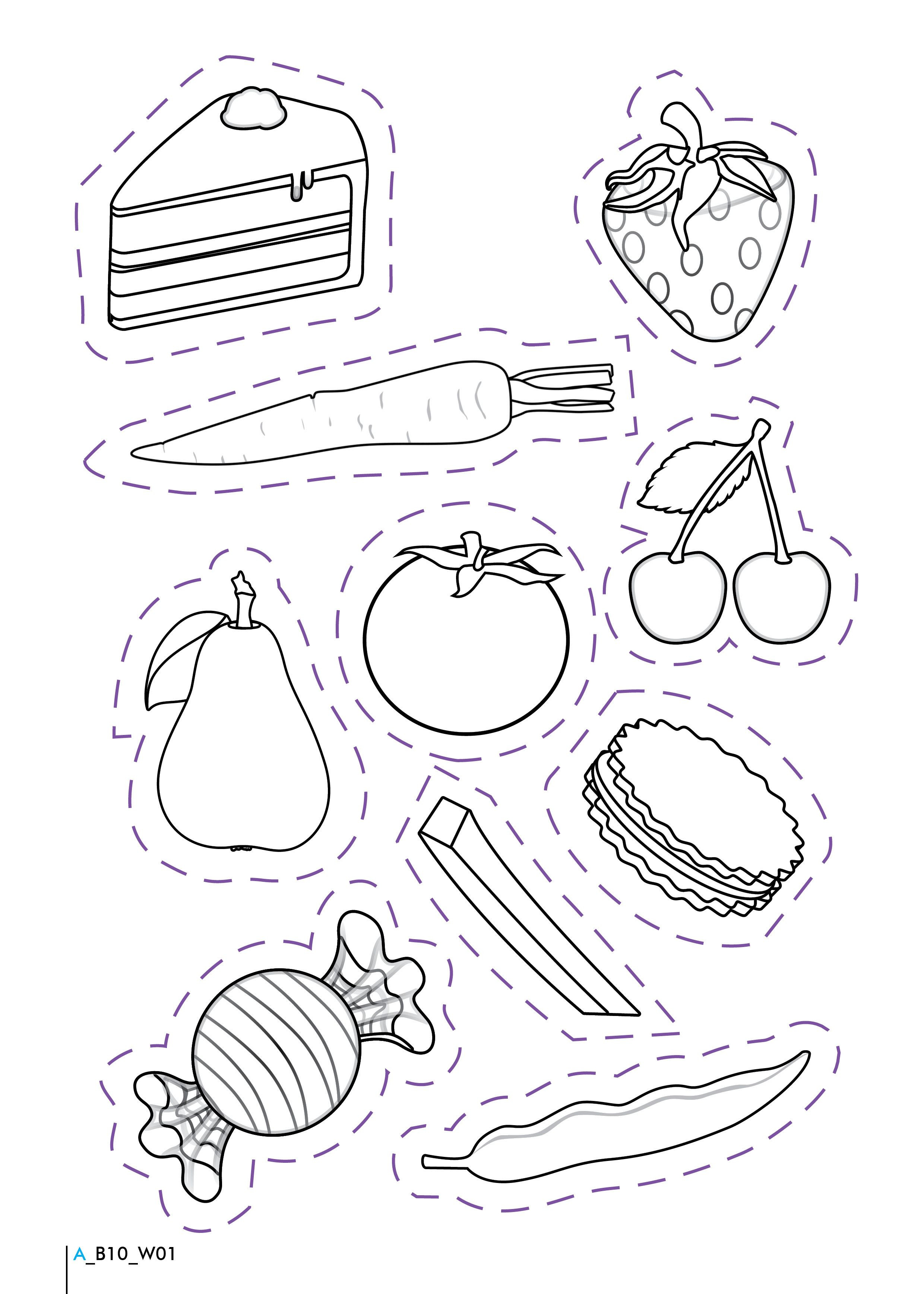 Kindergarten Nutrition Worksheets Healthy and Unhealthy Foods Worksheet