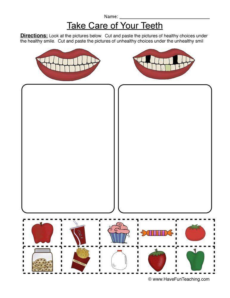 Kindergarten Nutrition Worksheets Pin On Printable Worksheet for Kindergarten
