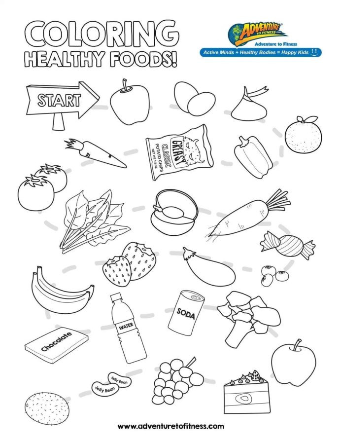 Kindergarten Nutrition Worksheets the Best Free Nutrition Coloring From Food Groups