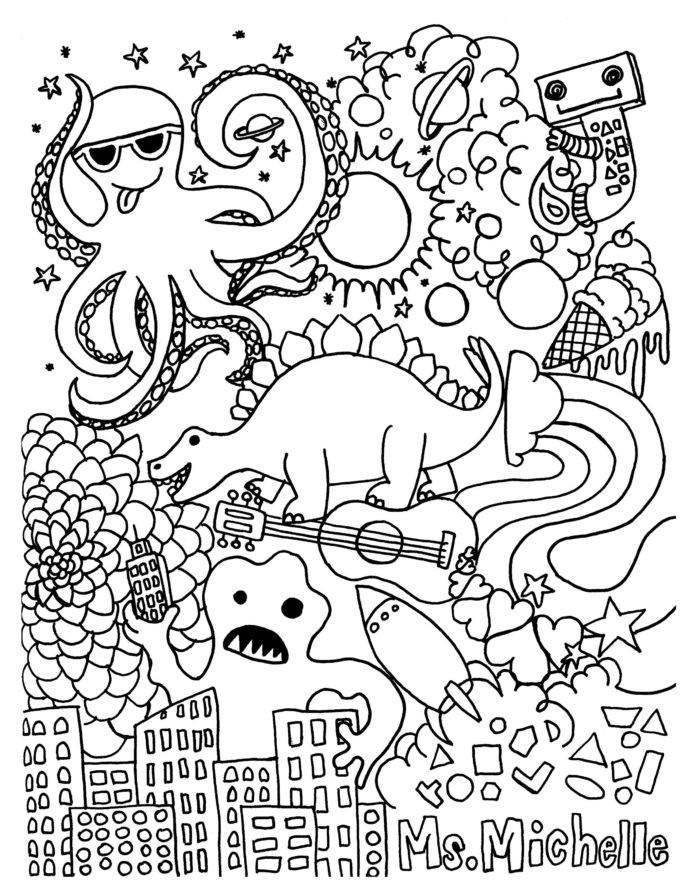 Kindergarten Ocean Worksheets Preschool Drawing Worksheets at Getdrawings Free Animals for