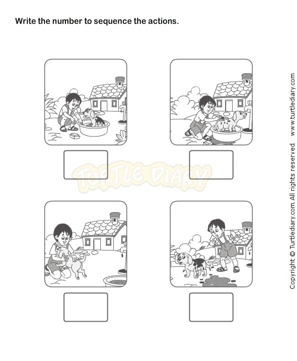 Kindergarten Sequence Worksheets Sequence events Worksheets for Kindergarten – Mreichert