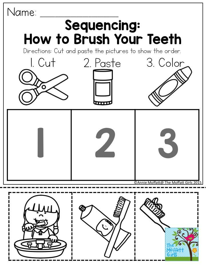Kindergarten Sequencing Worksheet 28 [ Sequencing Worksheets for Preschoolers ]