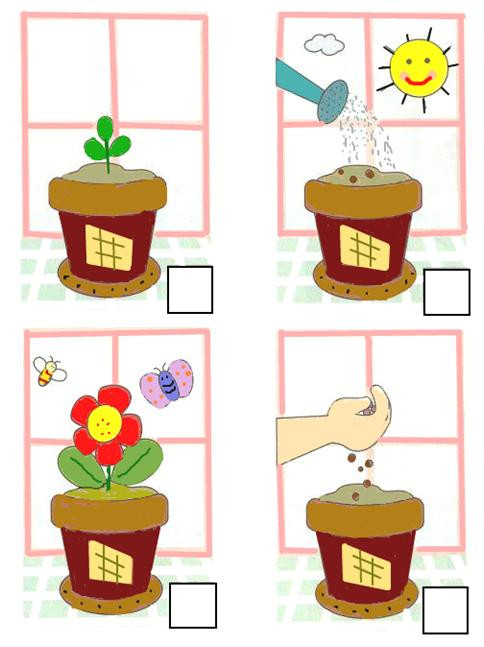 Kindergarten Sequencing Worksheet Number the
