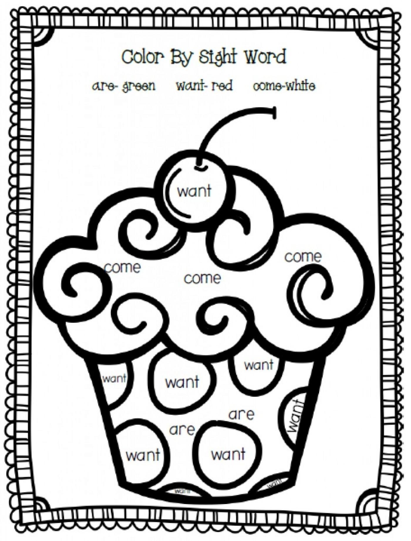 Kindergarten Sight Word Coloring Worksheets Coloring Worksheet High Frequency Word Have Printable Free