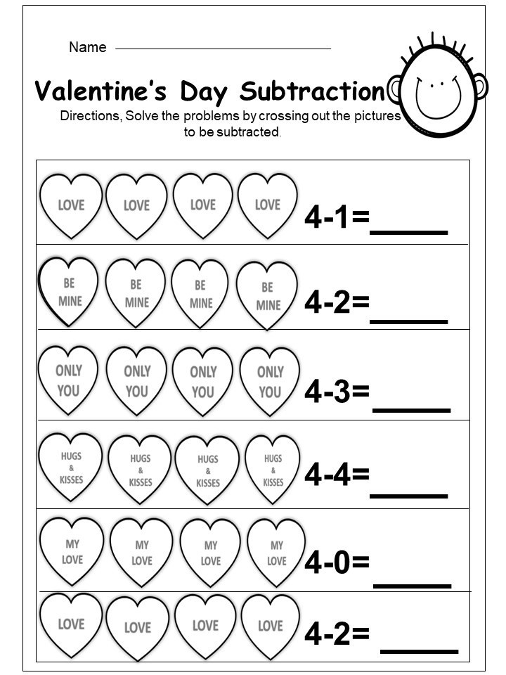 Kindergarten Subtraction Worksheets Free Printable Kindergarten Addition and Subtraction Printables