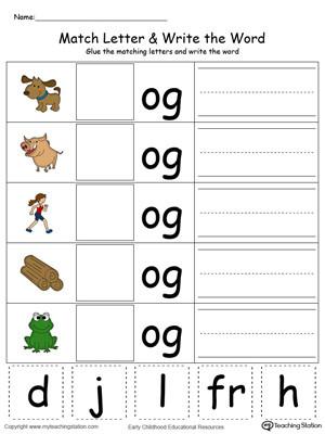 Kindergarten Three Letter Words Worksheets Magnet Board Mon Worksheets Three Letter Words for