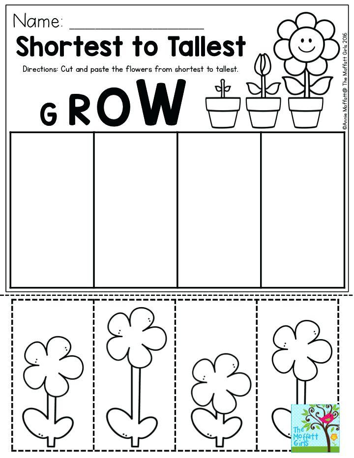 Kindergarten Worksheets Cut and Paste Preschool Cut and Paste Worksheets Cut and Paste Worksheets