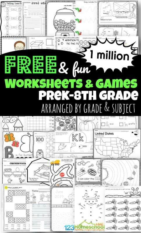 Landforms Worksheet for Kindergarten 1 Million Free Worksheets for Kids