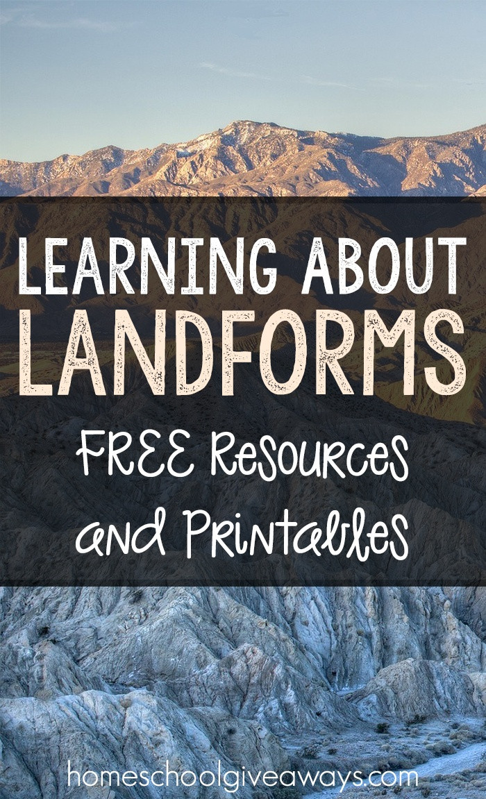 Landforms Worksheet for Kindergarten Learning About Landforms Free Resources and Printables