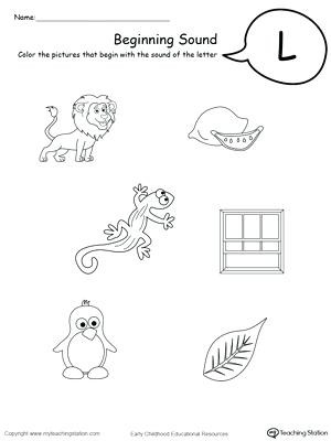Letter L Worksheet Preschool Letter L Worksheets for Preschoolers Letter L Worksheets