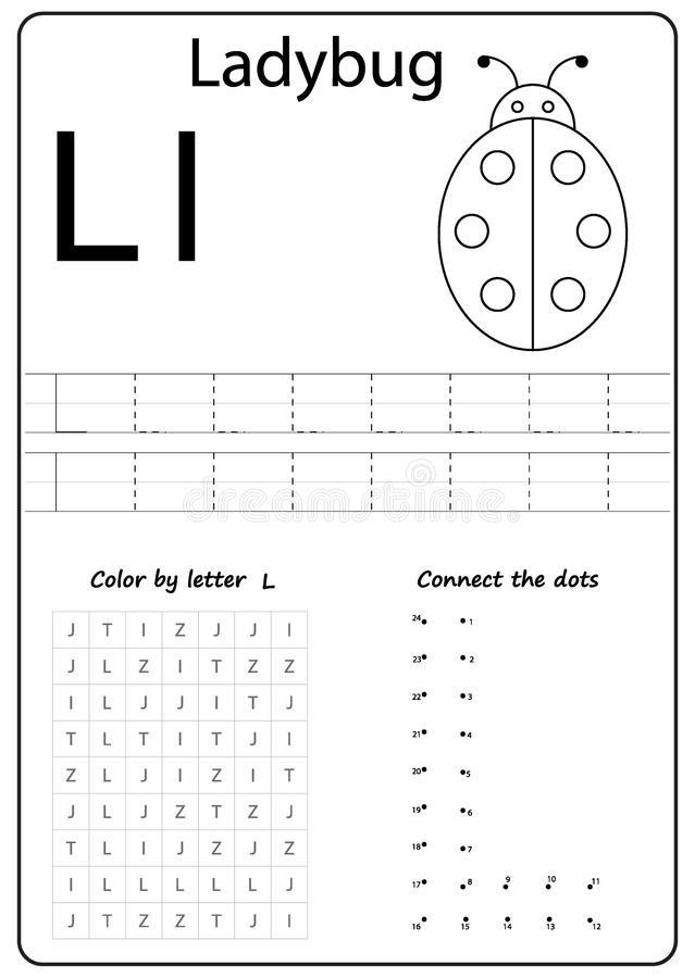 Letter L Worksheet Preschool Writing Letter L Worksheet Writing A Z Alphabet