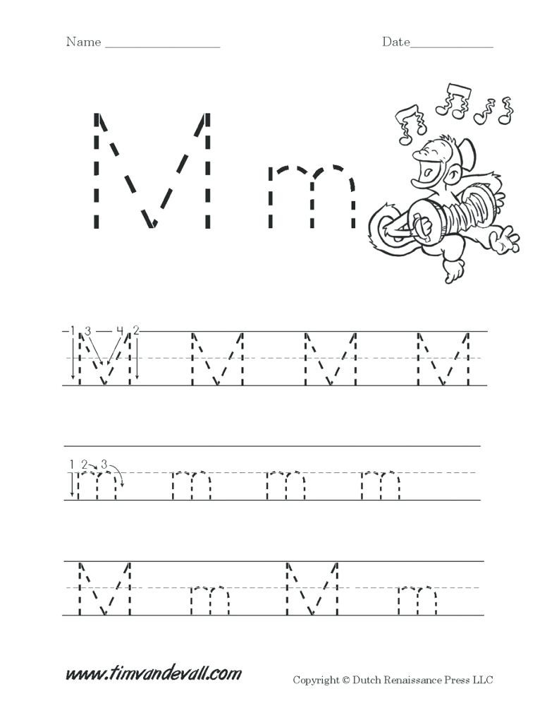 Letter M Worksheets for Preschoolers Letter M Worksheets for Free Download Letter M Worksheets