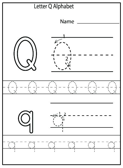 Letter M Worksheets for Preschoolers Letter Q Worksheets for Preschoolers Letter Q Worksheets for