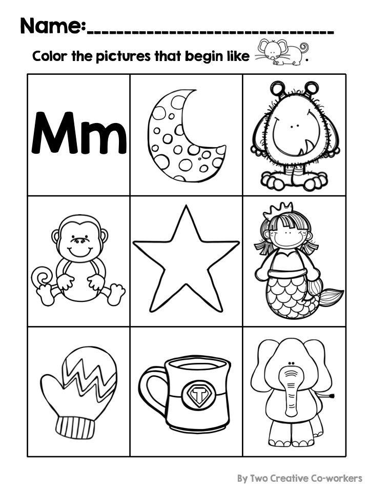 Letter M Worksheets Kindergarten Letter M Alphabet Practice